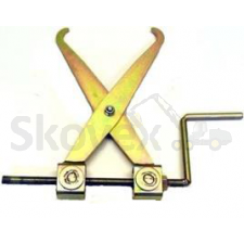 "Wheel chain mounting tool ""scissors"""