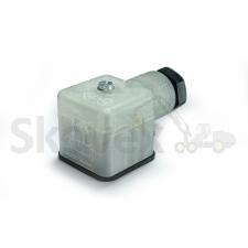 Solenoid connector 24V, Led, Varistor