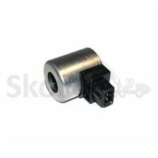 Solenoid coil fan valve