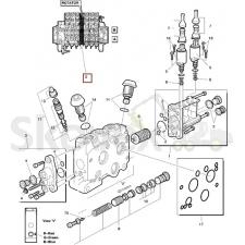 Блок Клапана  РОТАТОР LS90